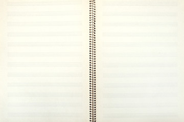retro double-page spread of old music book