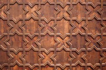 Wooden Ceiling Background