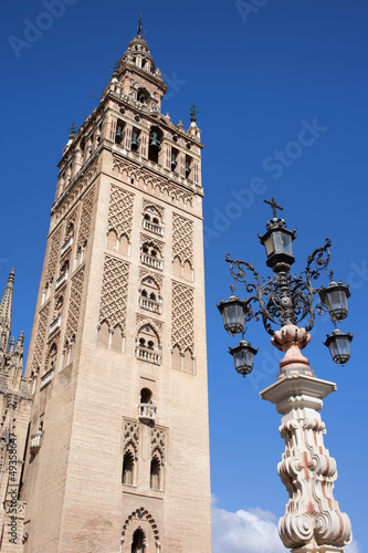 La Giralda Cathedral Tower in Seville