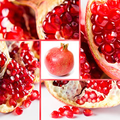 Pomegranate, saved clipping path