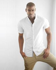 Casual male fashion