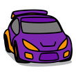 Cartoon Car 13 : Rally Car