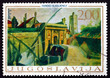 Postage stamp Yugoslavia 1968 Porta Terraferma, Zadar, by Ferdo