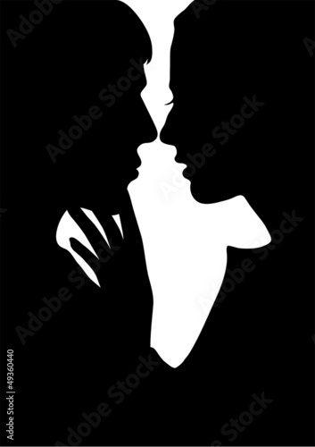 silhouette lovers