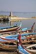 Myanmar. boats on the lake