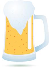 Mug of beer.