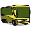 Cartoon Car 27 : Large Tour bus