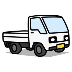 Cartoon Car 29 : Kei truck