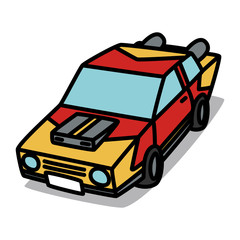 Cartoon Car 30 : Custom car