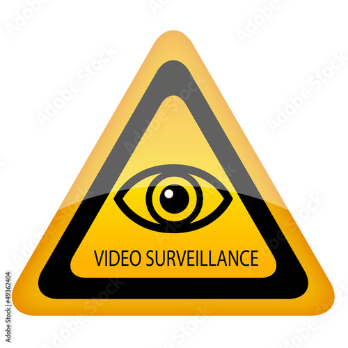 Vector eye surveillance symbol