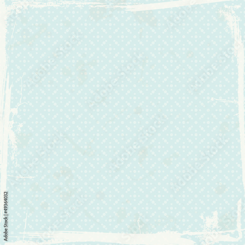 Retro Background Dots Pattern Blue
