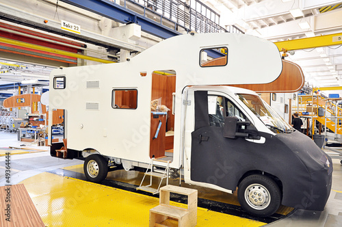 Automobilindustrie // mobile home production