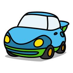 Cartoon Car 32 : Futuristic Car