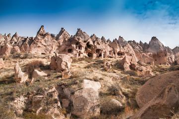 cappadocia fairy chimneys turkey