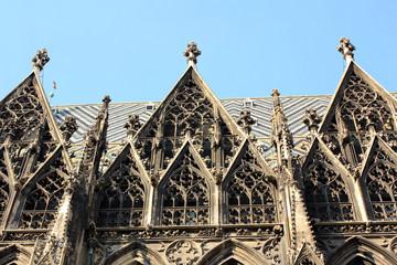 Wien, Fassade des Stephansdoms
