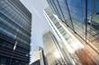 Obrazy na płótnie, fototapety, zdjęcia, fotoobrazy drukowane : panorama of skyliline buildings in Canary Wharf