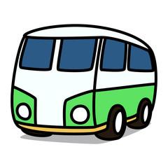 Cartoon Car 38 : Classic Minivan