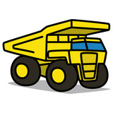 Cartoon Car 41 : Superdump Truck
