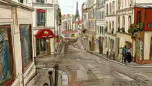 Rue de Paris - illustration