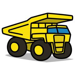 Cartoon Car 41 : Superdump Truck