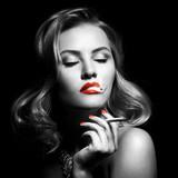 Fototapeta manicure - piękny - Kobieta