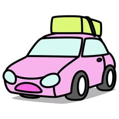 Cartoon Car 44 : Moving car