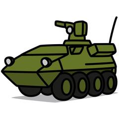 Cartoon Car 48 : Armored Vehicle