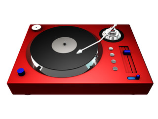 3d record player