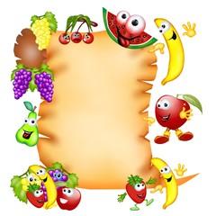 pergamena frutta mix