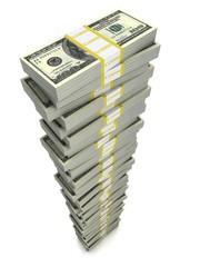 stack of dolar bills