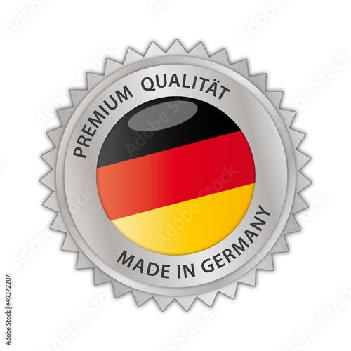 Made in Germany Siegel Qualität Handwerk