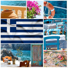 Greece collage