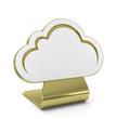 """""""Cloud"""" Golden Icon"""