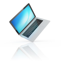 laptop notebook ultrabook isolated
