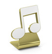 """Music"" Golden Icon"