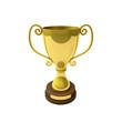 Pokal in Gold