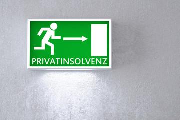 Wegweiser zur Privatinsolvenz