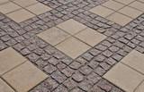 pattern on the pavement