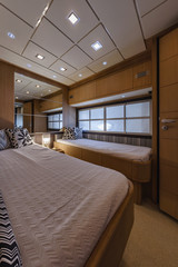 Italy, Abacus 70 luxury yacht, 2nd guests bedroom