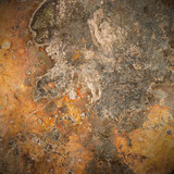 brown old rust metal plate background