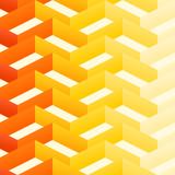 Retro Zigzag Pattern poster
