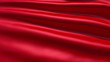 Slowly waving red fabric background, seamless looped animation
