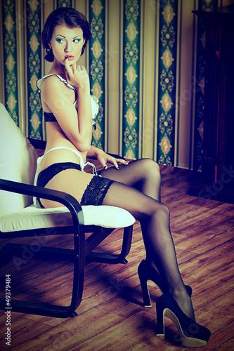 seductive shot