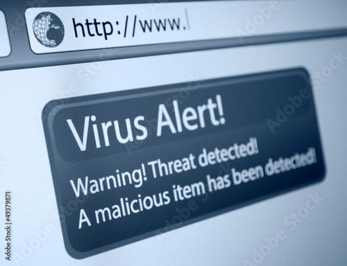 Virus Alert - 49379871