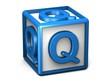 Q Letter Cube