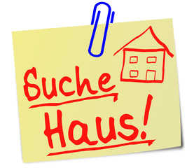 Suche Haus Post It  #130210-svg03