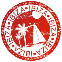 Stamp - Ibiza, Spain