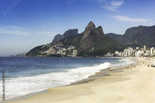 Ipanema Beach in the morning