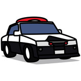 Cartoon Car 51 : Police Car