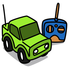 Cartoon Car 57 : Radio-controlled Car
